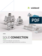 WIELAND Multi-pole connectors