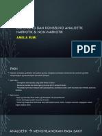 Dispensing Dan Konseling Analgetik Narkotik & Non-narkotik