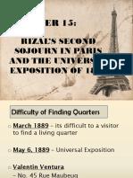 Chapter 15 Paris