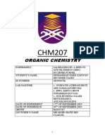 Lab Report Chm207
