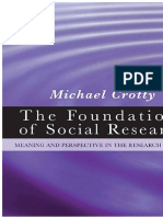 CROTTY, Michael. The Foundations of Social Research. SAGE Publications Ltd (1998)