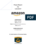 Management concepts of amazon