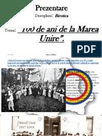 100 de ani de la Marea Unire 2.pptx