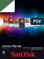 Bedienungsanleitung Sansa Clip Zip