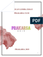 Panduan Lomba Essay Prakarsa Ugm 2019