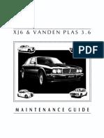 87 XJ6 Maintenance Guide