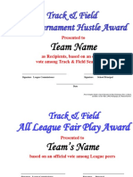 track   field awards