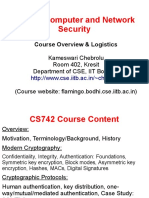 Cs742 Overview
