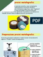 Preparazione Campioni Metallografici (Metallographic Sample Preparation)