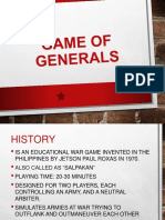 The Game of Generals