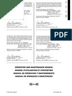Mercury 30-40 Operation & Maintenance Manual
