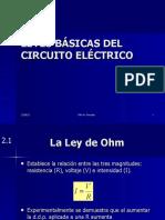 Leyes basicas del circuito eléctrico