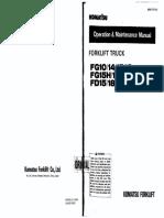 FG15-17 Operation Manual