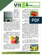 Fertilizante - Acidos Humicos y Fulvicos - Nutri VIT - AgroSoluciones LA