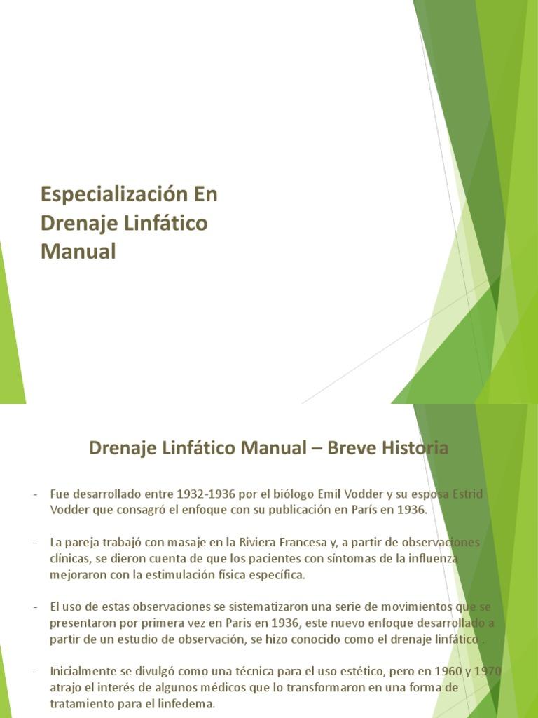 Drenagem linfática manual método dr vodder pdf