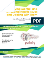 Identifying Mental  and Emotional Health Issues and Dealing with them.pptx