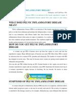 What is Pelvic Inflammatory Disease