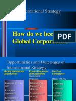 Globalization -International Processing Strategy