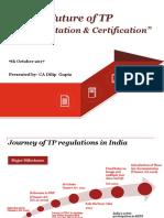 TP Documentation & Certification- NIRC-07.10