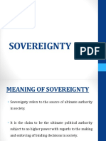Sovereignty Ppt