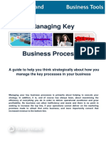 Managing Key Business Processes