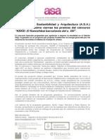 Entrega Premios Kbxxi - Asociación Sostenibilidad y Arquitectura (A.S.A.)