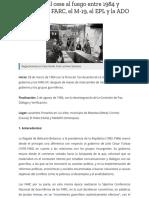 Acuerdos del cese al fuego entre 1984 y 1986 con las FARC, el M-19, el EPL y la ADO | VerdadAbierta.