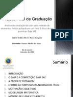 Apresentação - Projeto Final