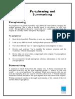 Paraphrasing and Summarizing.pdf