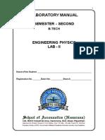 Physics Lab II