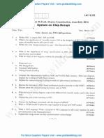 System on Chip Design July 2016 (2014 Scheme) (1)