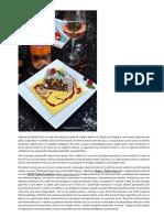 Salam de Biscuiti Cu Sos de Vanilie Si Sos de Fructe de Padure _ Diva in Bucatarie