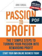 From Passion to Profit