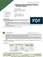 Programacion Desarrollo Personal 2 Santa Elena