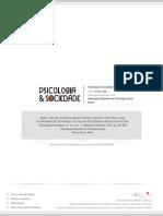 A CONTRIBUIÇÃO DO MODELO SOCIAL DA DEFICIÊNCIA À  PSICOLOGIA SOCIAL THE CONTRIBUTION OF THE SOCIAL MODEL OF DISABILITY TO THE  SOCIAL PSYCHOLOGY