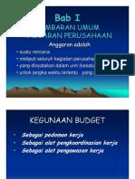 anggaran penjualan