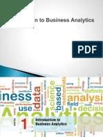Business Analytics Mba