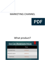 Marketing Channel
