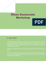 WorkshopOleos Essenciais