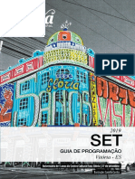 Agenda Setembro 2019  Centro Cultural Sesc Gloria