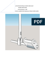 Aluminum Machined Flaperon Handle for Belite