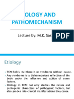 Etiology and Pathomechanism