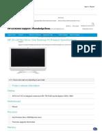 HP 20 c419in All in One Desktop