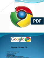 Google Chrome OS Ppt