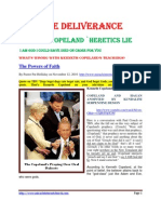 Kenneth Copeland ` Heretics Lie