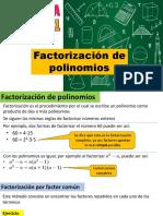 04) Factorización de Polinomios
