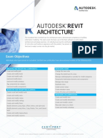 ACU_Revit Architecture_Exam Objectives.pdf
