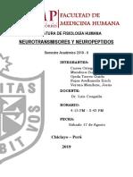 Neurotransmisores y Neuropéptidos- Seminario Fisiología
