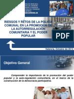 377456134 Retos y Riesgos de La Policia Comunal