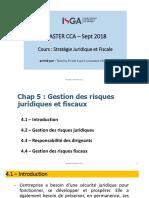 SJF - Chap 4 - Gestion Des Risques Juridiques Et Fiscales